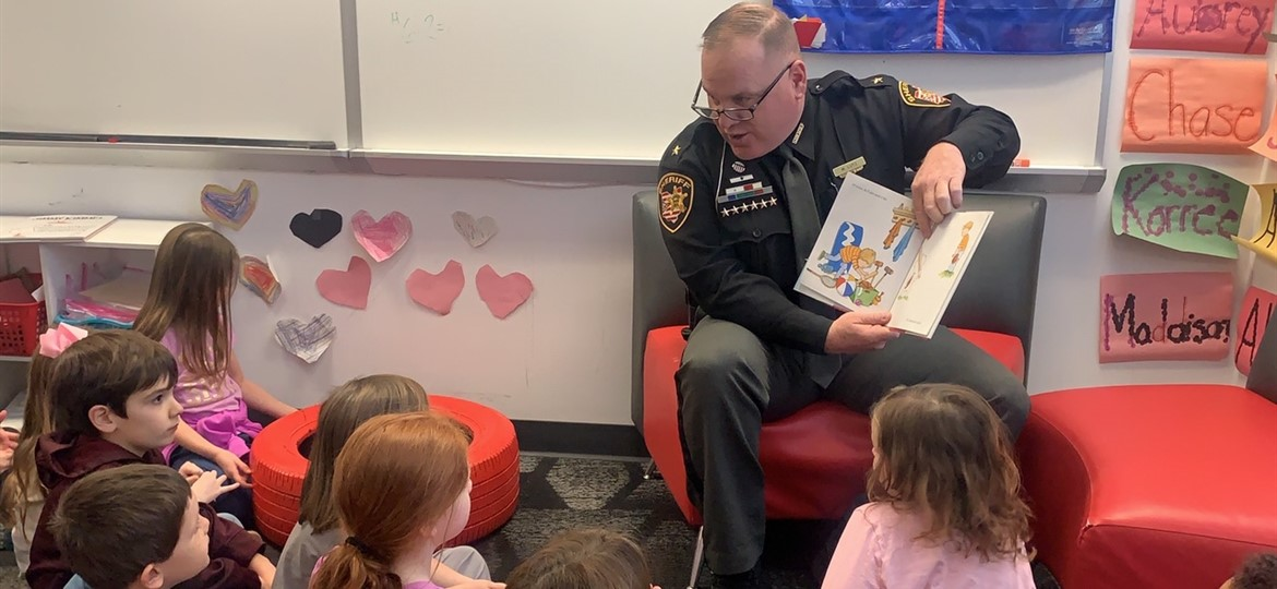 Guest Reader Sheriff Lutz