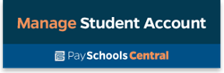 PaySchools Central Manage Student Account