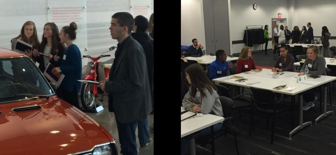 Global Scholars visit the Honda Plant
