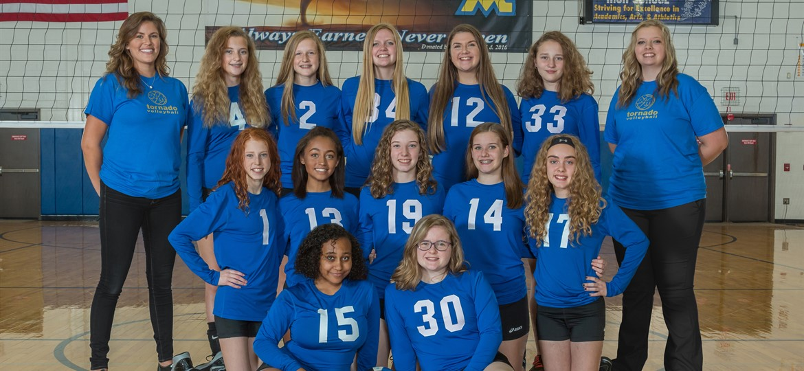 West M JV Volleyball Team