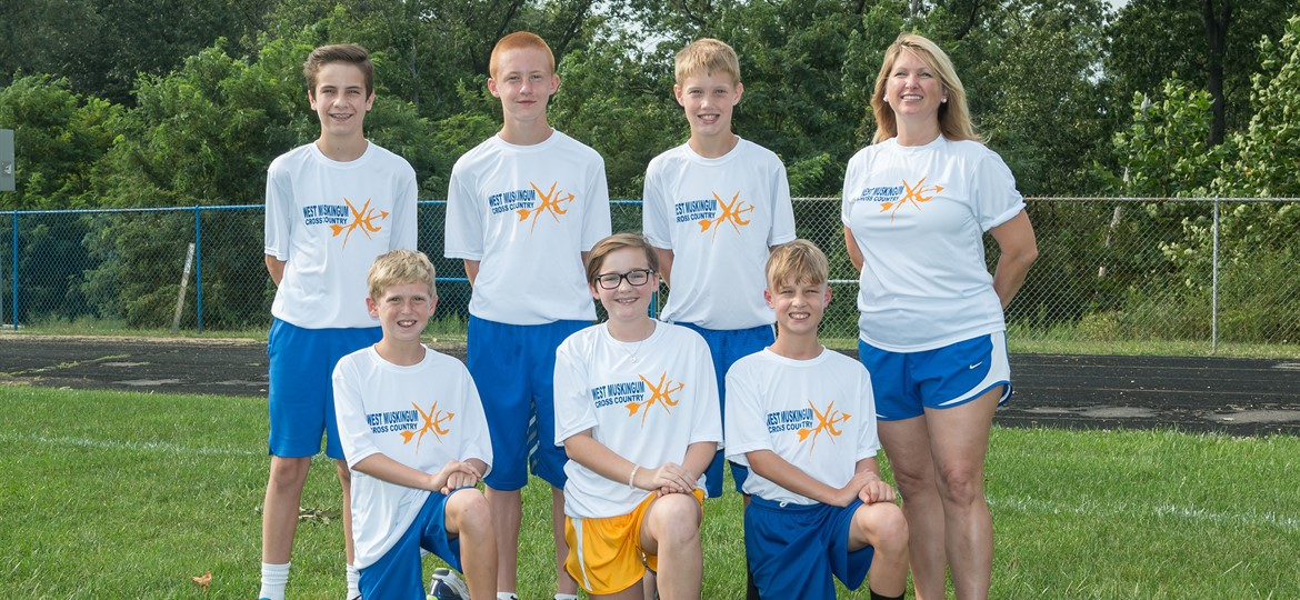 West M Middle School Cross Country Team
