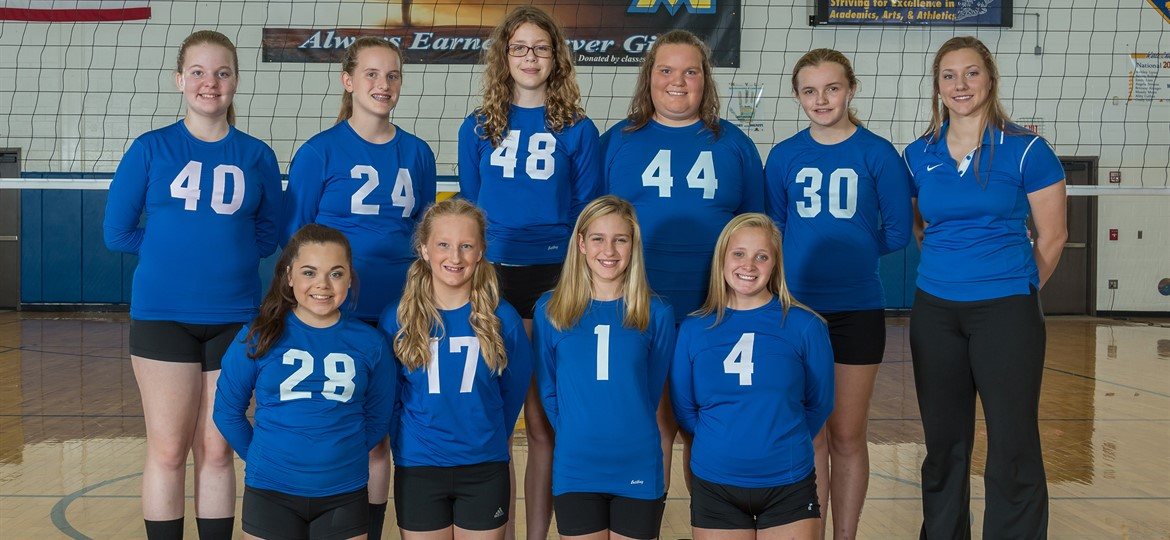 West M 7th Grade Volleyball Team