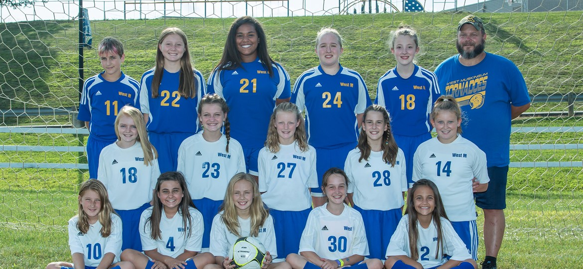 West M Girls Middle School Soccer Team