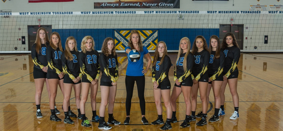 West M Varsity Volleyball Team