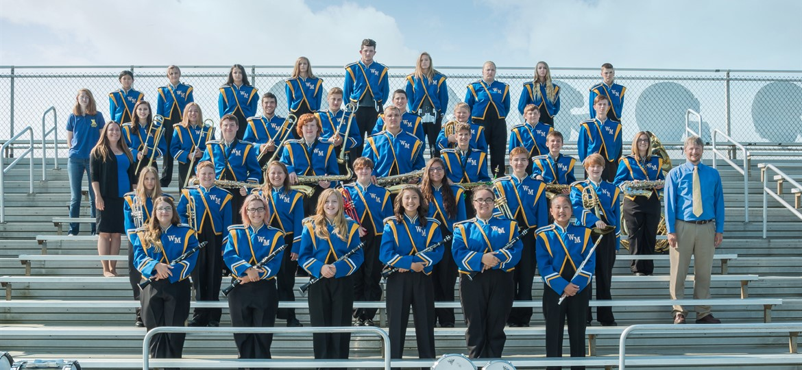 West M Marching Tornadoes