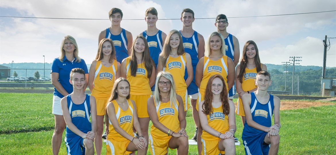 West M Cross Country Team