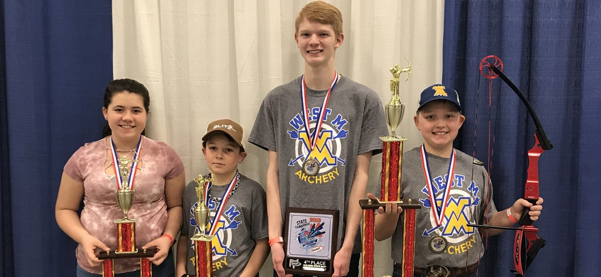 West M State Archery Tournament Awardees