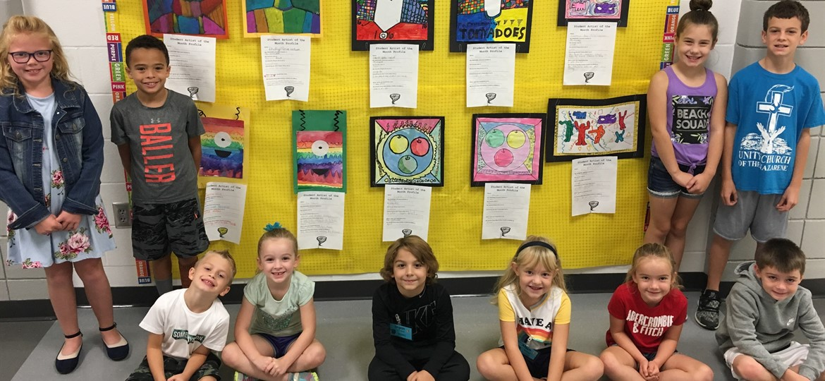 WMES Artists of the Month