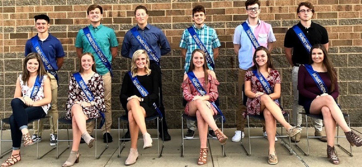 Homecoming Court 2018