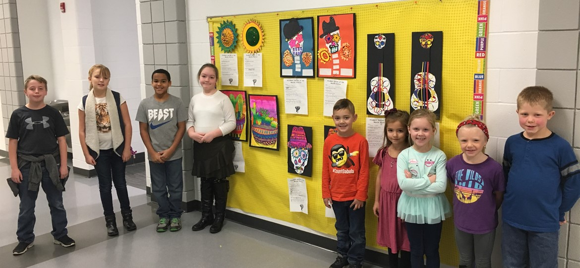 WMES October Artists of the Month