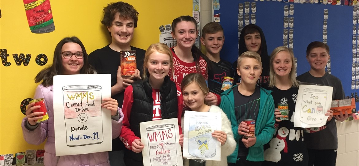 WMMS Canned Food Drive